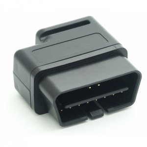 Connector, J1962M Right Angle, Black